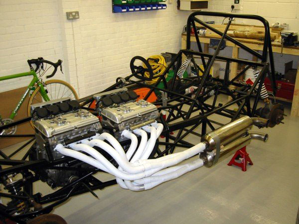 I need your help for a Hayabusa V8 building - F1technical net