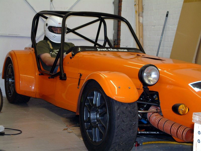 Westfield-world Kitcar support Site - Tim's Westfield picture Gallery